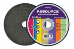 Disk of shl_fuvalniya on metal, 125х6,3х22,