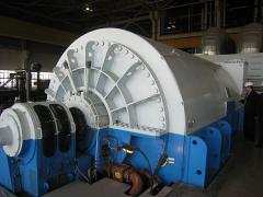 Turbogenerators the TGV, TA and ASTG type,