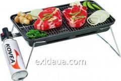Гриль газовый Kovea Slim gas barbecue grill TKG-9608-T