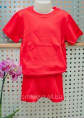 Костюм футболка+шорты(трусики)