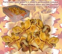 Cookies of Chanterelle of 1,0 kg