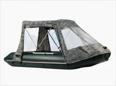 Тент для надувной лодки