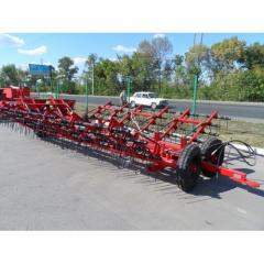 Tooth - a spring harrow of ZPB - 14