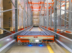 Automatic cargo BT Radioshuttle platform