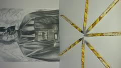 Pencil graphite (SLATE PENCIL) START 2m-4m.
