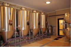 Brewery of 50-1000 liters/day