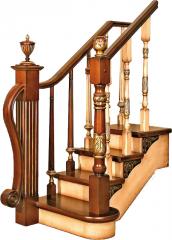 Продажа лестниц, деревянные лестницы, на второй