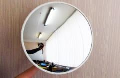 Survey mirror for rooms
