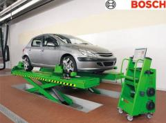 Stand disorder convergence of Bosch FWA 4430