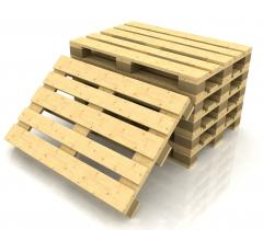 Pallets wooden