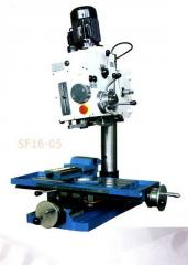 Desktop boring-and-milling SF16-05 machines