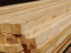 Брус деревянный, Тополь