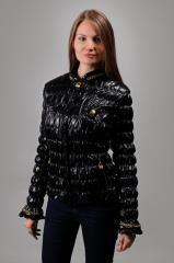 Кожаная куртка Цепи