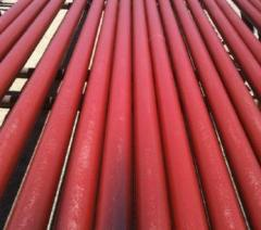 Anticorrosion coating of pipes