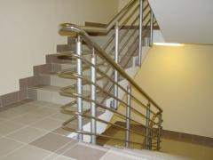Handrail, fences, protections from stainless steel