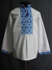 Shirt for the boy, embroidery, rubashechny