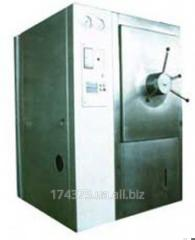 Steam horizontal sterilizers