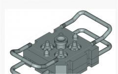 Compression molds for molding of plastic products