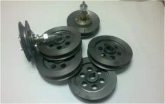 Castings of cast iron