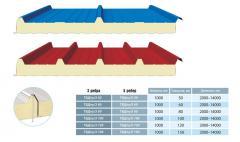 Сендвич-Панель покрівельна 3 ребра Тбдпу/3  150