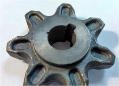 Sprocket Claas 674143.5 chain Z7, d30