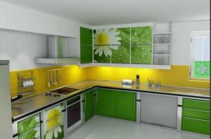 Кухонная мебель фабрики «Гермес»
