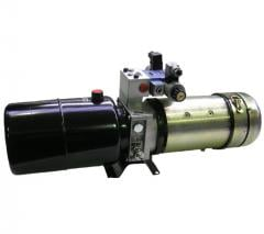 """Компактные минигидростанции очень высокого качества. Гидростанция предназначена для управления гидравлическими устройствами как гидроцилиндрами и гидромоторами. ООО """"Гидравлик Лайн""""."""