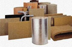 Basalt cylinders, semi-cylinders thermal