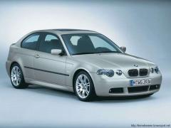 Glass left front lowering green 3T BMW 3 E46 3T