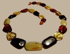 Beads amber multi-color kod19