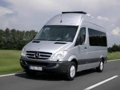 Glass left front lowering Ave. Mercedes Sprinter