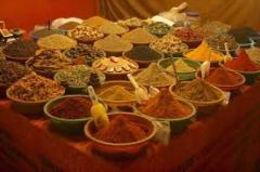 Spices ground
