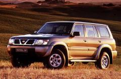 Стекло лобовое зеленое Nissan Patrol Gr Y61 Jeep