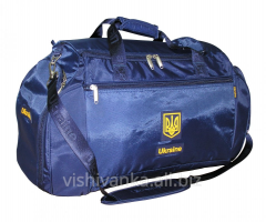 Sports bags with national symbolics