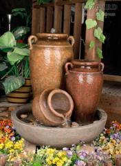 Fountain decorative Amphoras (code 4618)