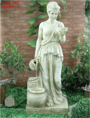 Fountain decorative Antique girl of F-02S