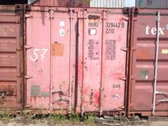 Container of 20 second-hand tons No. 57