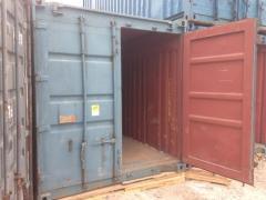 Blue sea container open top No. 1331