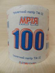Туалетная бумага Мрия 100 м