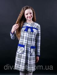 Подростковое платье в клетку Модель 313-1