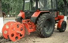 Асфальторезные машины на базе тракторов...
