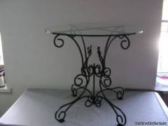 Мебель для столовых кованая