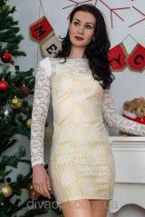 Dress beige Model 0522-2