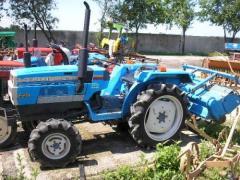 Мини-тракторы японского производства