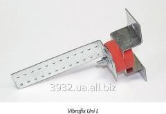 Крепления Vibrofix UNI-L  для монтажа звукоизоляционных облицовок