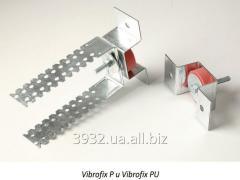 Звукоизоляционные крепления Vibrofix P для монтажа