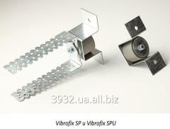 Fastställande Vibrofix SP för ljudisolering tak