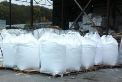 The soda calcinated in bags on 25 kg