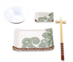 Набор для суши керамика 5 предметов Welberg WB