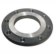 Flanges are steel fla